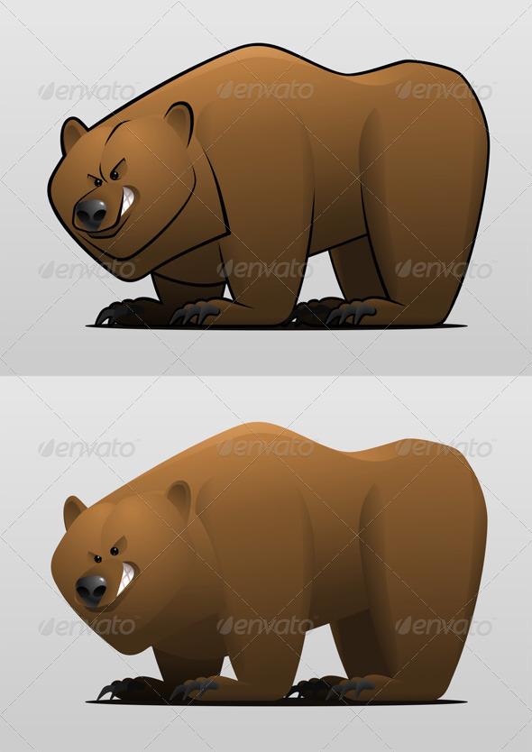 GraphicRiver Cartoon Bear 7827700