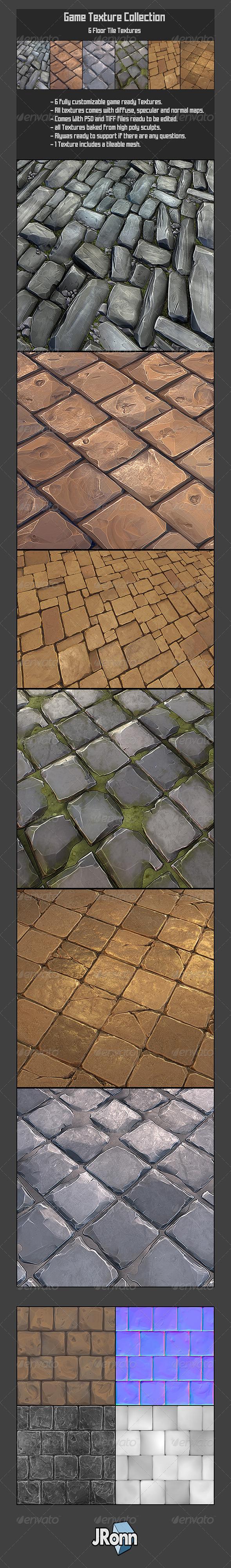 3DOcean 6 Rock Floor Textures01 7827934