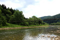nice bridge across the speed mountainous river - PhotoDune Item for Sale