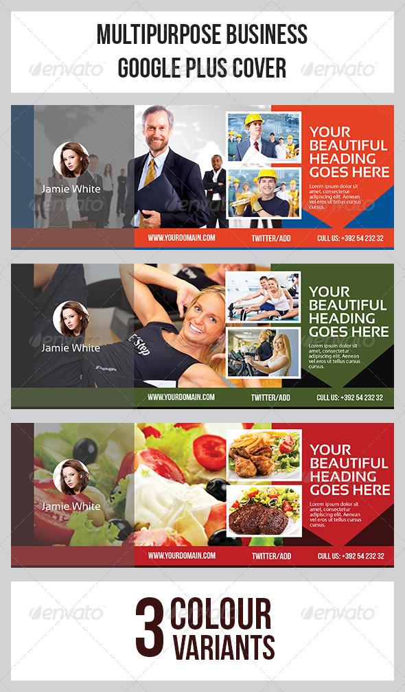 GraphicRiver Google Plus Cover 7828330