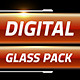Digital Glass Lower Thirds - VideoHive Item for Sale
