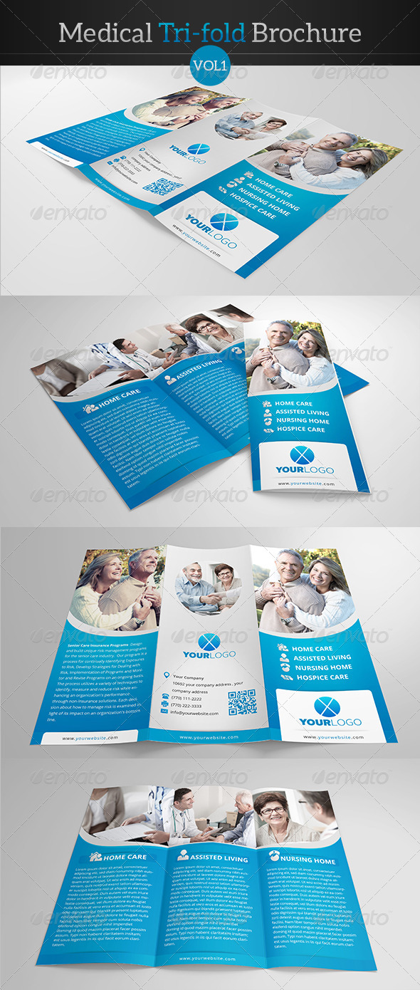 GraphicRiver Medical Tri-fold Brochure 7828729