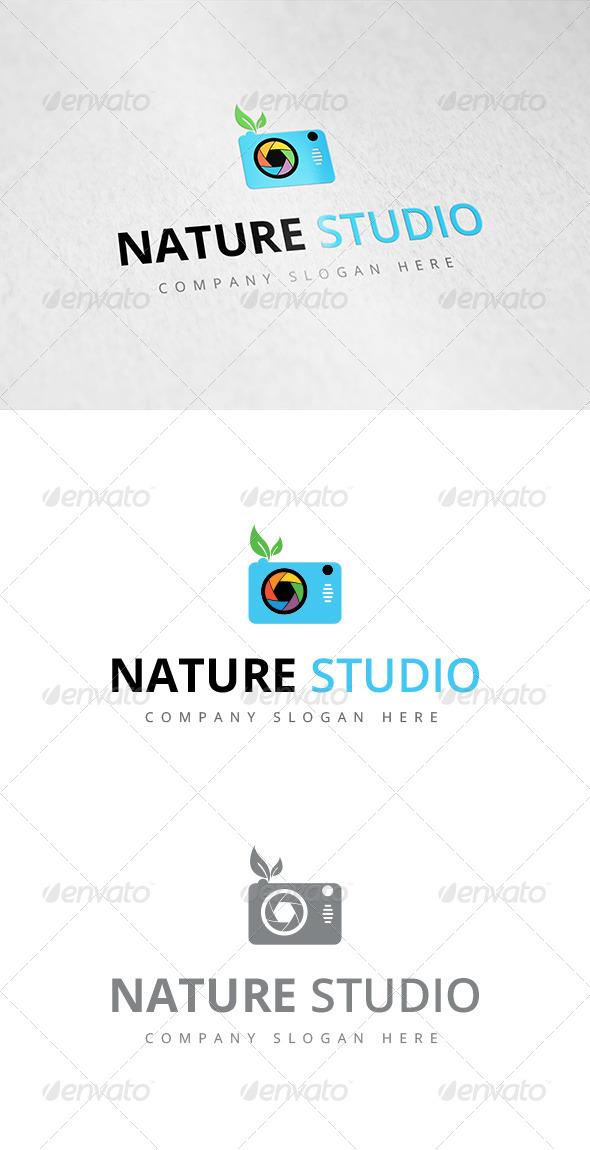 GraphicRiver Nature Studio Logo 7822865