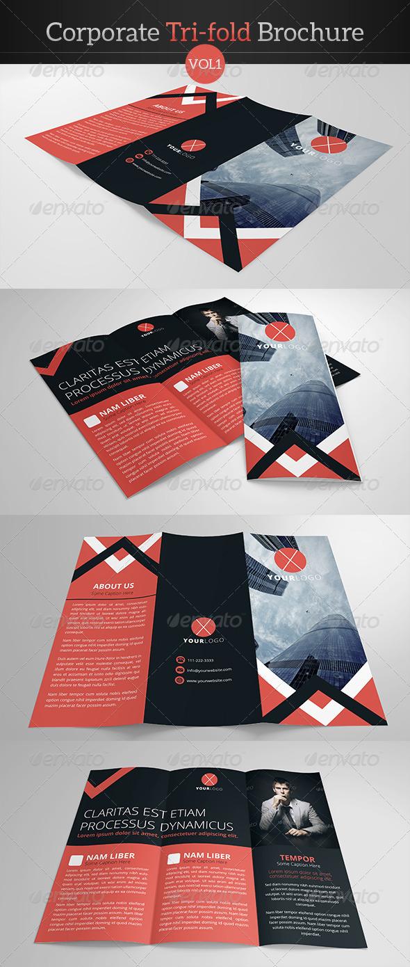 GraphicRiver Corporate Trifold Brochure 7829117