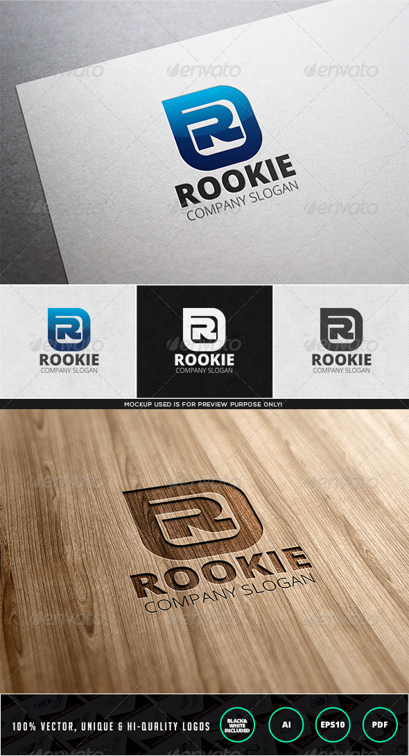 GraphicRiver Rookie Logo Template 7829140
