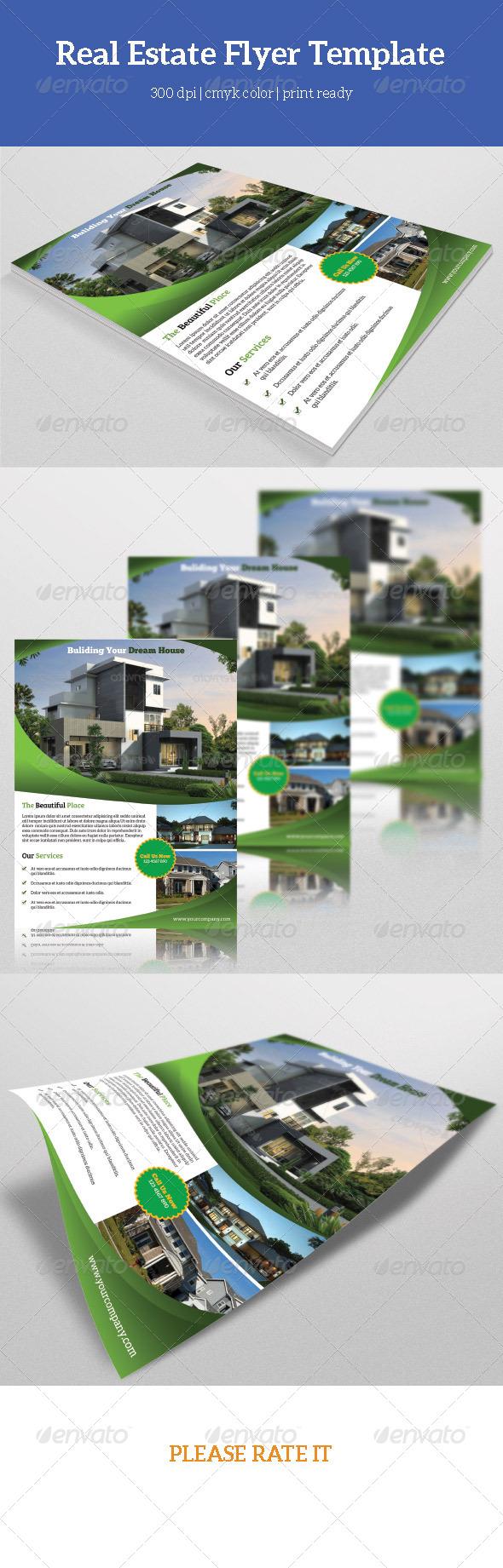 GraphicRiver Real Estate Flyer Template-V37 7829674