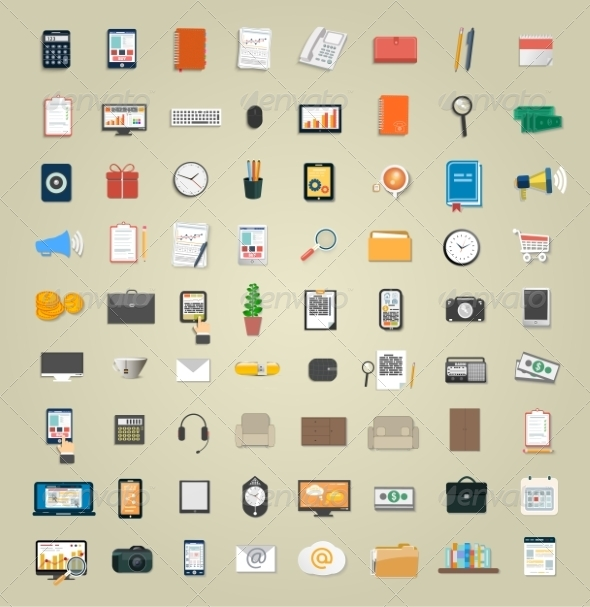 GraphicRiver Set of Various Business Service Items 7829749