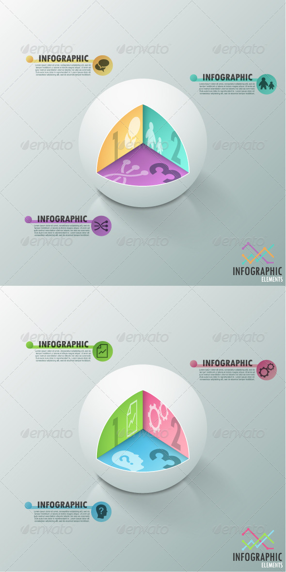 GraphicRiver Modern Infographic Options Banner 2 Versions 7829830