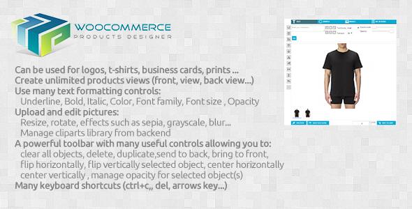 CodeCanyon Woocommerce products customizer 7818029