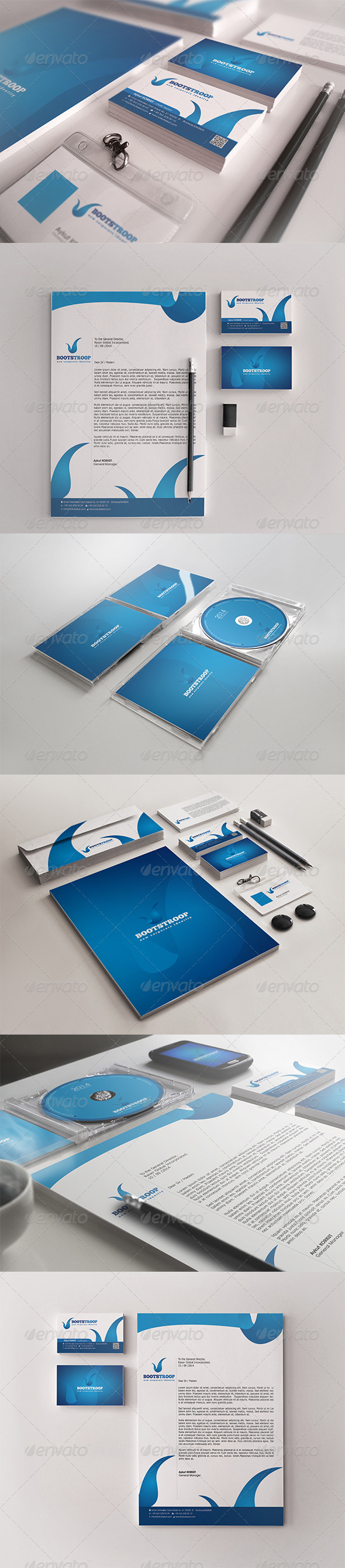 GraphicRiver BootStroop Corporate Identity 7830044