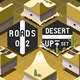 Isometric Roads on Two Levels Desert Terrain - GraphicRiver Item for Sale