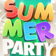 Summer Party Poster Design Collection - GraphicRiver Item for Sale