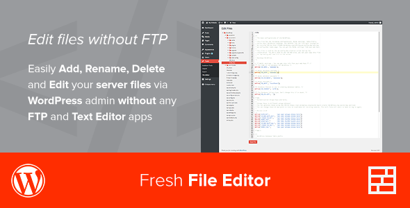 CodeCanyon Fresh File Editor 7830856