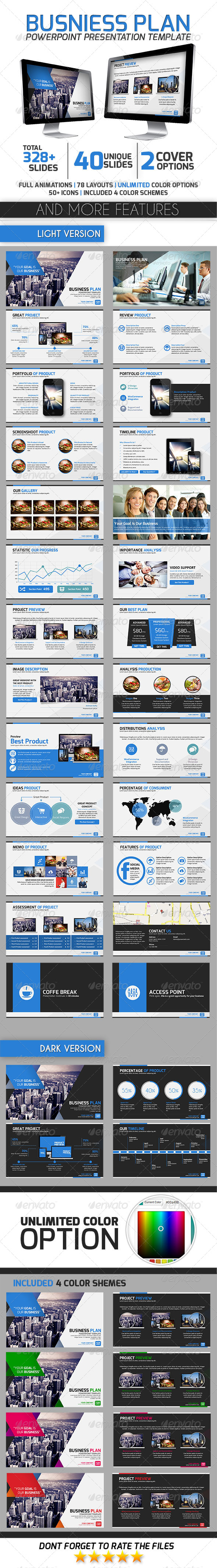 GraphicRiver Business Plan 7812485