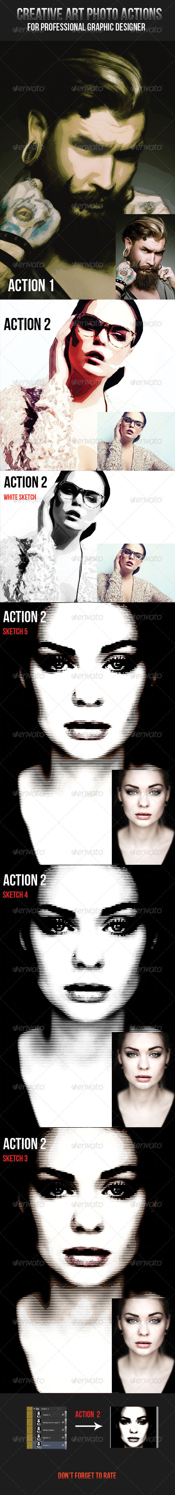 GraphicRiver Creative Art Photo Actions 7831345