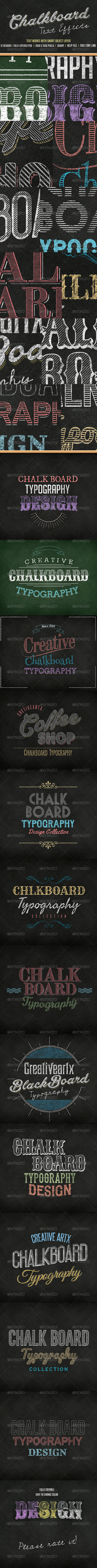 GraphicRiver Chalkboard Text 7832412