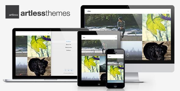ThemeForest Vinz Multipurpose Portfolio HTML Template 7765654