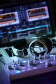 DJ computer workstation for live performance