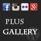 Plus Gallery - Responsive social gallery for WP - CodeCanyon Item for Sale