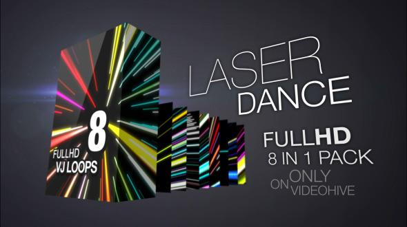 Laser Dance 8 Pack