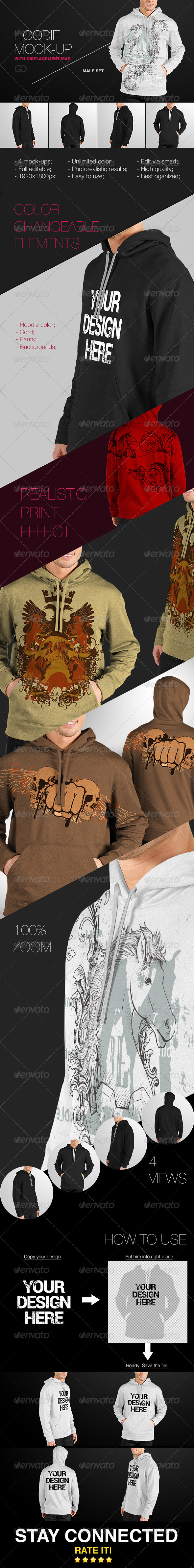 GraphicRiver Hoodie mock-up 7836691