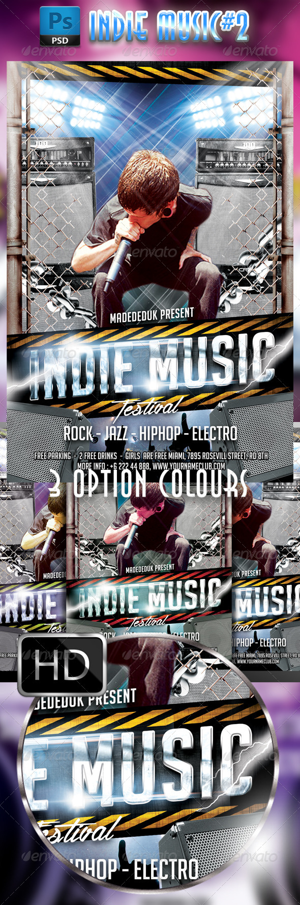 GraphicRiver Indie Music Festival #2 7836777