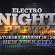 Electro Night Party - VideoHive Item for Sale
