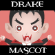 Drake the Vampiric Businessman Mascot - GraphicRiver Item for Sale