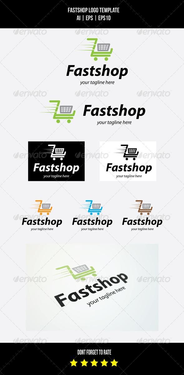 GraphicRiver Fast Shop Logo Template 7805969