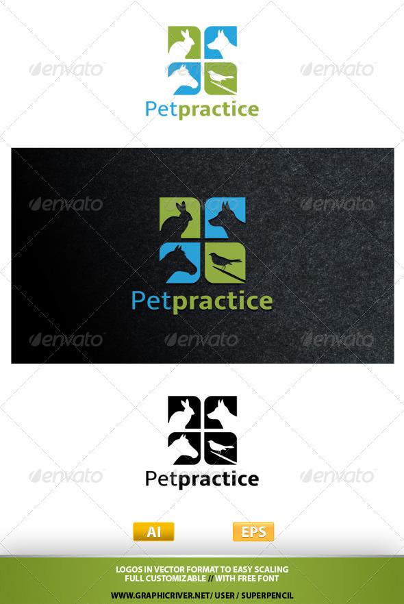GraphicRiver Petpractice Logo 7836947