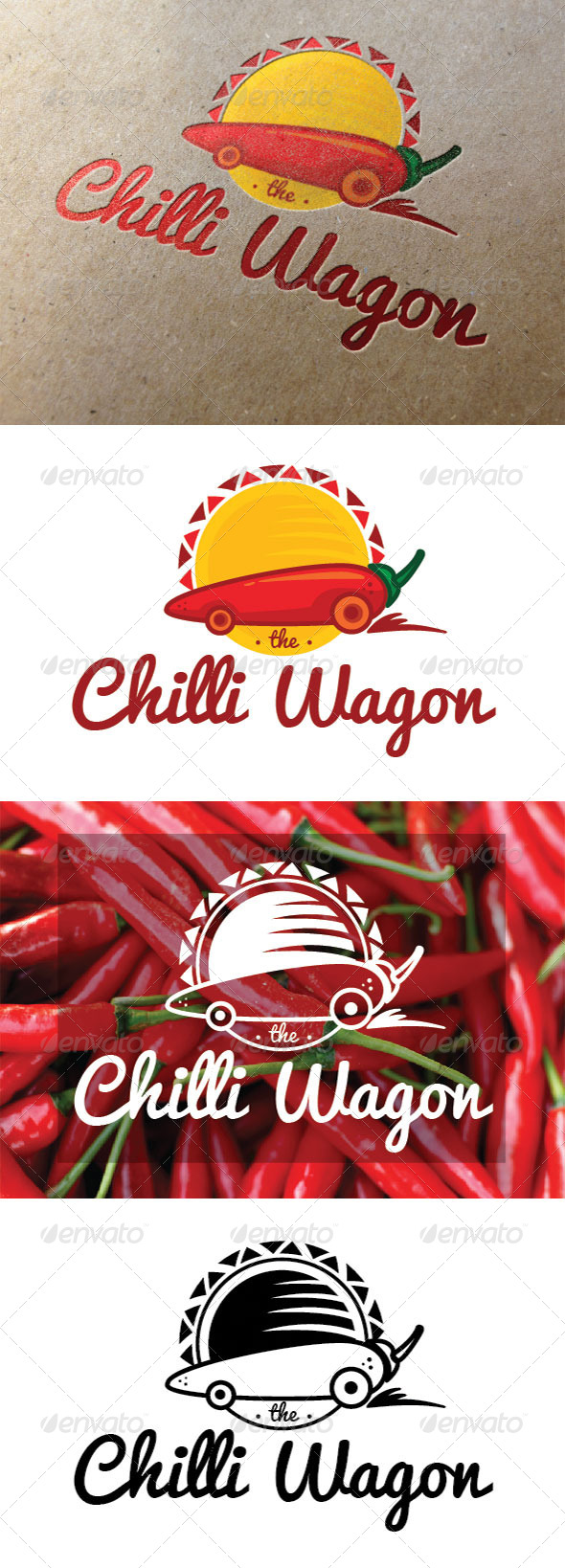 GraphicRiver Chili Wagon Logo 7837186