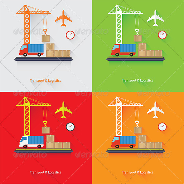 GraphicRiver Logistics Concept 7837404