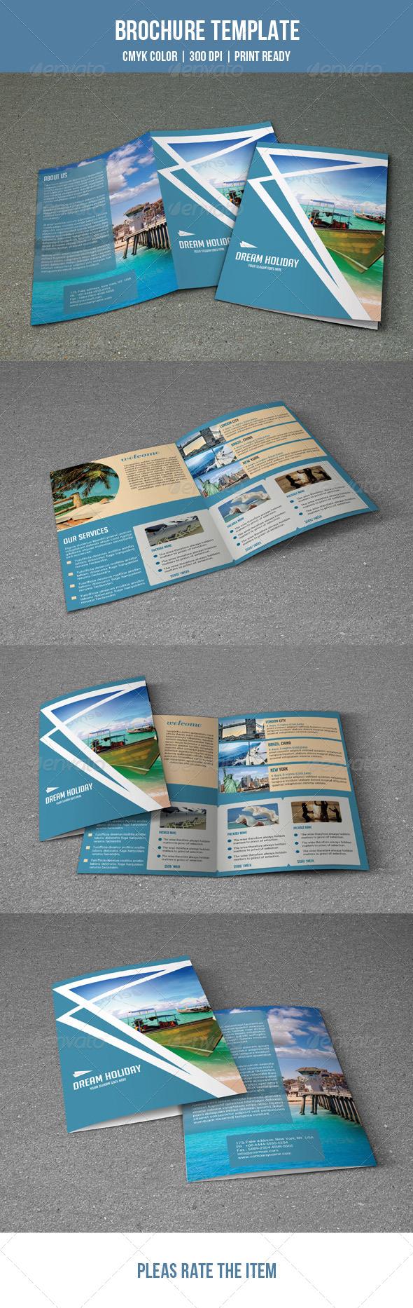 GraphicRiver Travel Brochure Template-V18 7837680