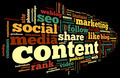Content conept in word tag cloud - PhotoDune Item for Sale