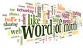 Word of mouth in word tag cloud - PhotoDune Item for Sale