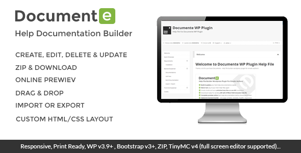 CodeCanyon Documente Help Documentation Builder 7796339