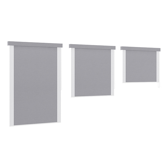 Grey Window Blinds - 3DOcean Item for Sale