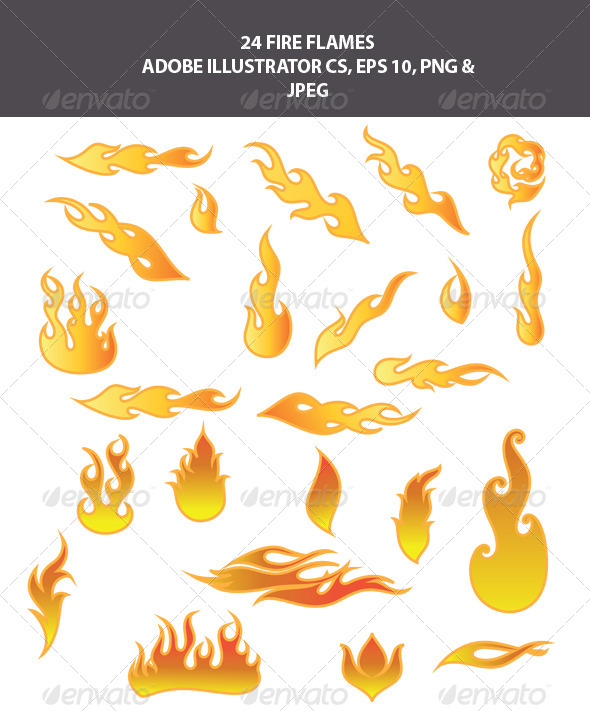 GraphicRiver Fire Flames 7838822