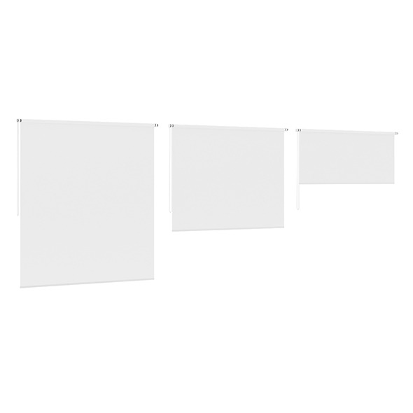 3DOcean White Window Blinds 7838836