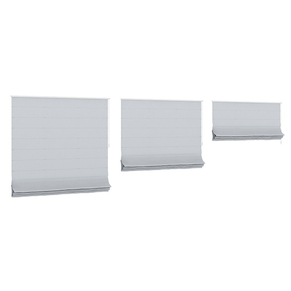 3DOcean Grey Roman Blinds 7838846