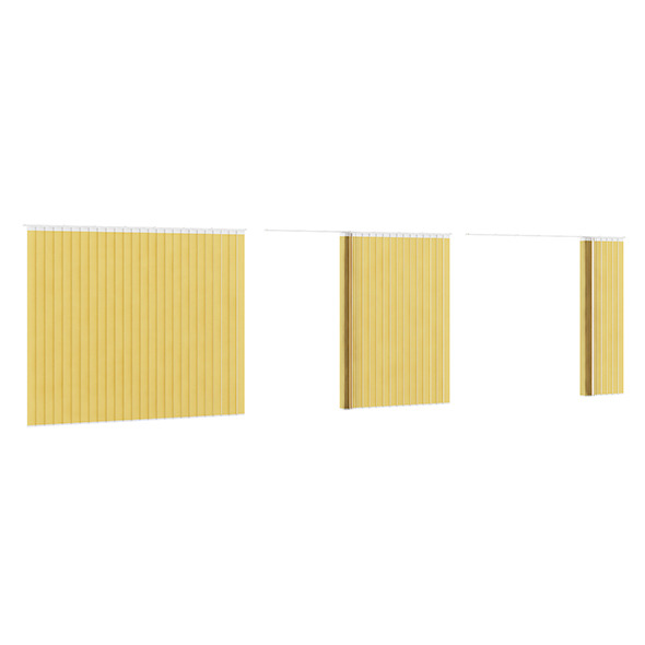 Vertical Yellow Blinds - 3DOcean Item for Sale