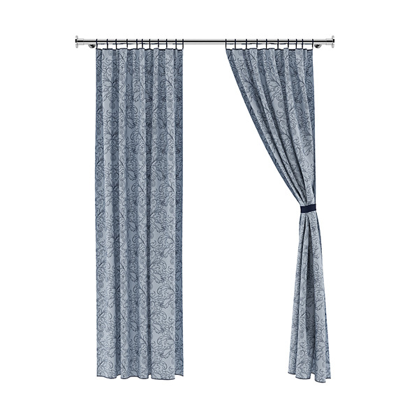 Patterned Curtains - 3DOcean Item for Sale
