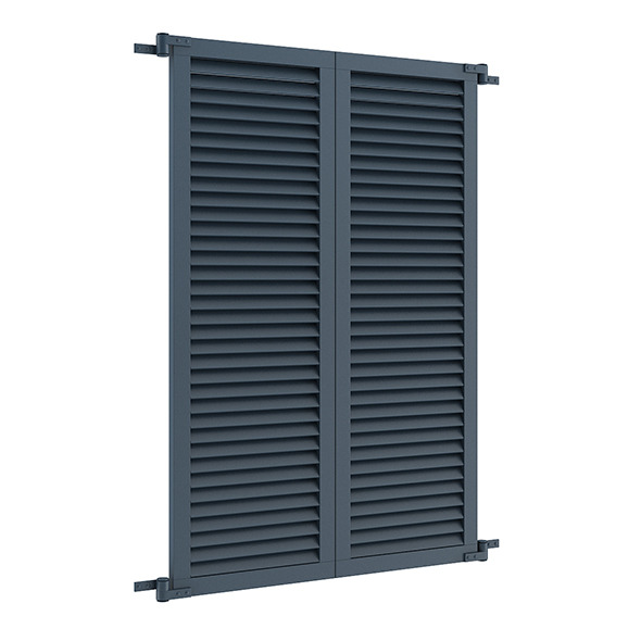 3DOcean Blue External Shutters 7839490
