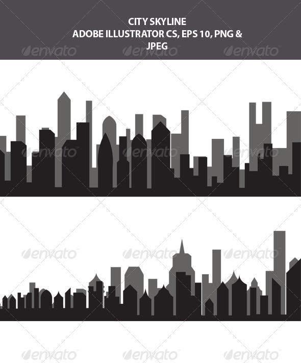 GraphicRiver City Skyline 7839591