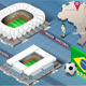 Isometric Stadium of Manaus and Curitiba, Brazil - GraphicRiver Item for Sale