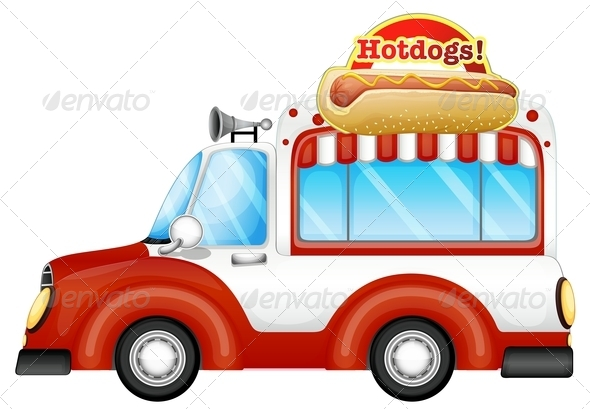 Vehicle Selling Hotdogs