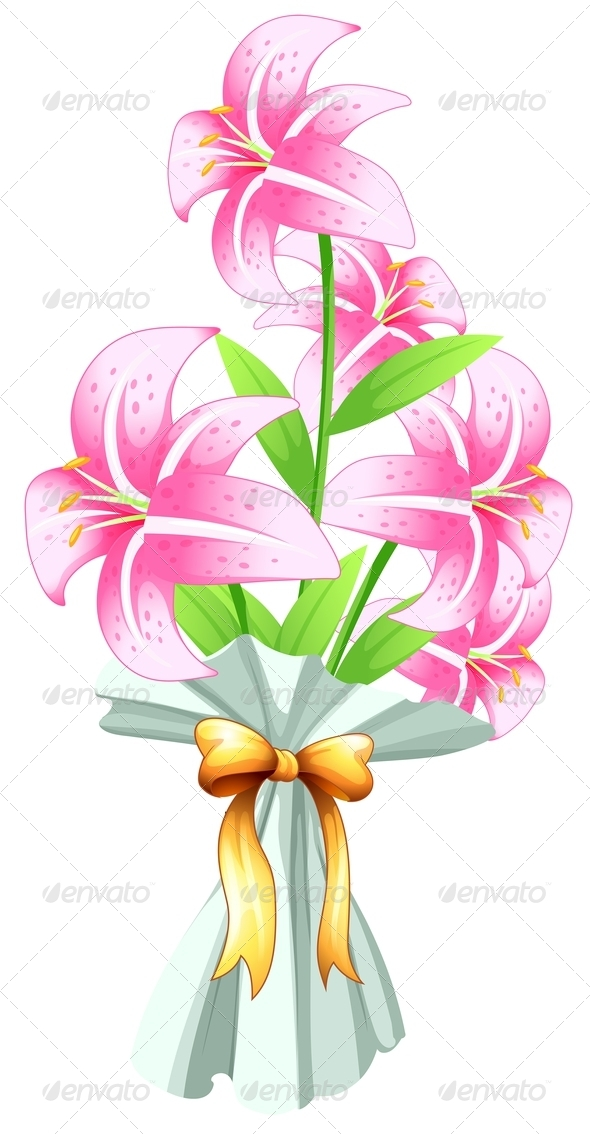GraphicRiver Boquet of Fresh Flowers 7839810