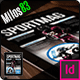Tab Sport Magazine Template - GraphicRiver Item for Sale