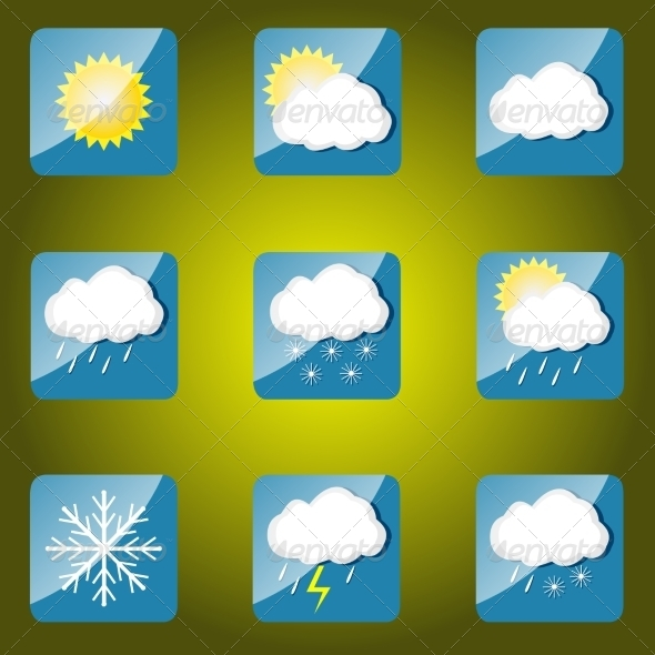GraphicRiver Weather Icons 7840145