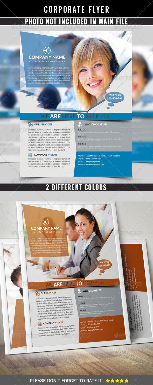 GraphicRiver Corporate Flyer 7840163